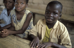 Young children in school. Ghana | by World Bank Photo Collection