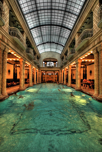 Gellert Swimming Pool | by pinkcigarette