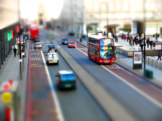 Tiltshift, outside Waterloo station | by david__jones