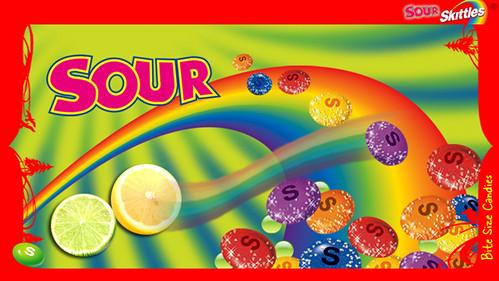 Sour Skittles: Artwork | © Sherrie Thai of Shaire ...