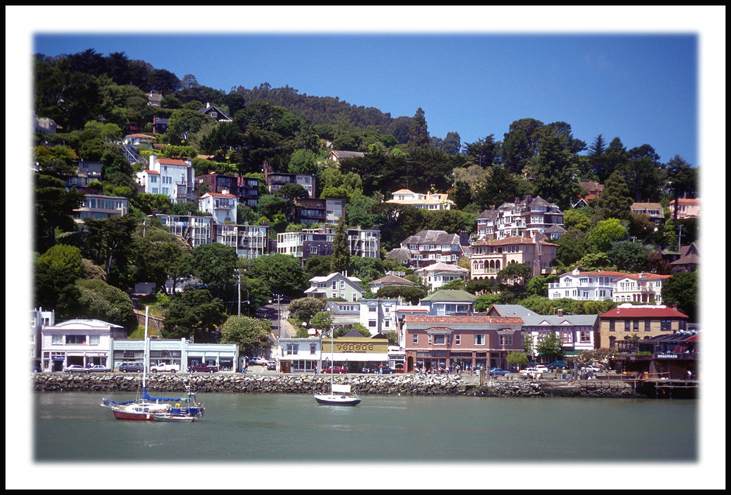 Sausalito, California From the Sausalito Ferry - 1998 | Flickr