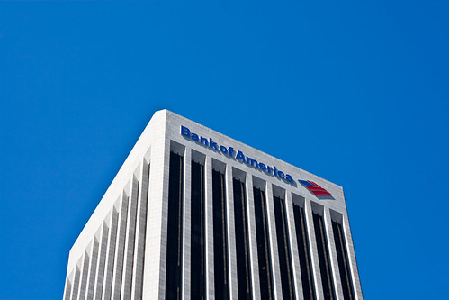 Bank of America, Downtown Los Angeles, California | by petekraynak