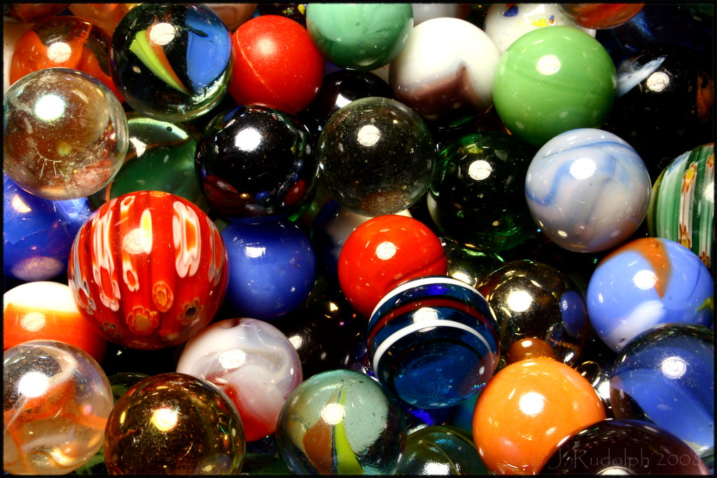 Colored Marbles For Games : Happy colored marbles camera canon eos