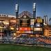 Comerica Park Scoreboard HDR