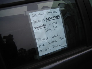 Attention Thieves | by rick