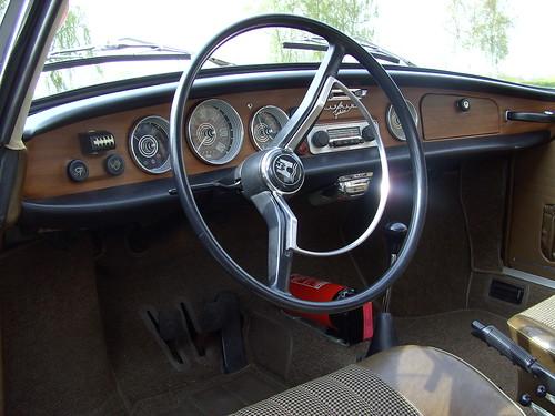 Volkswagen Karmann Ghia II   Volkswagen Karmann Ghia II dash…   Flickr