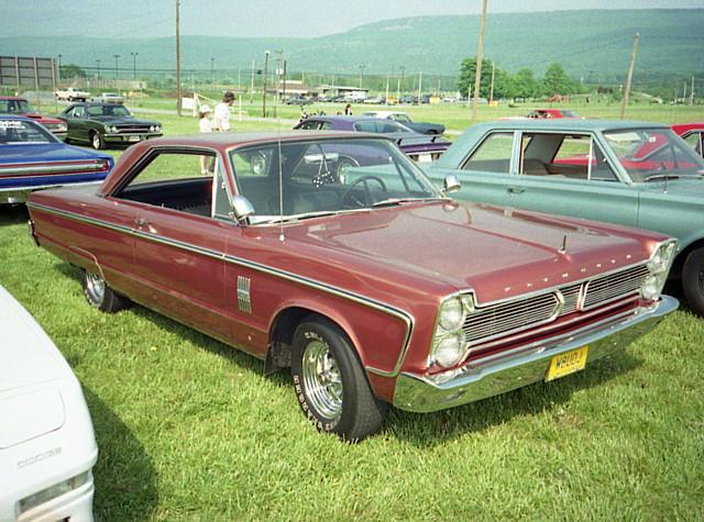 Splattergraphics 1966 Plymouth Fury III