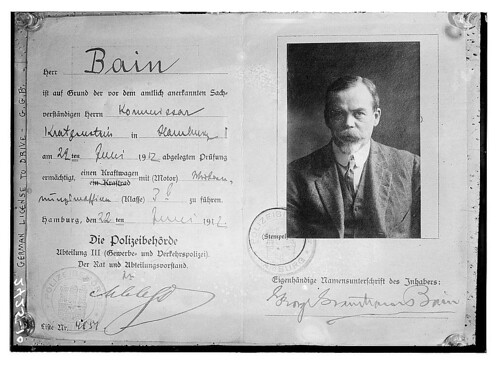 German drivers license - Bain  (LOC) | by The Library of Congress