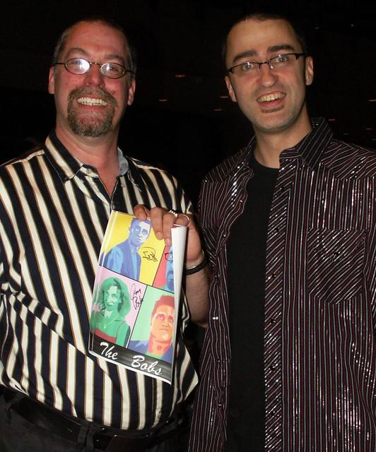 3 Iowa City Bobs Fan Dan Bob And Super Fan Doc Bob In