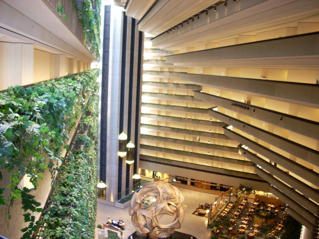 hyatt regency san francisco atrium the lines shapes and. Black Bedroom Furniture Sets. Home Design Ideas