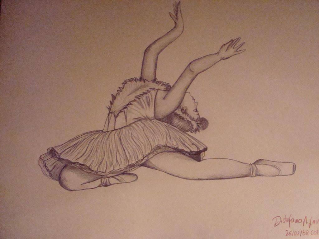 Disegni Di Ballerine Da Disegnare : Ballerina tratta da una foto di paoletta bravissima fotogu2026 flickr