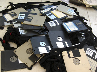 floppy disks for breakfast | by Blude