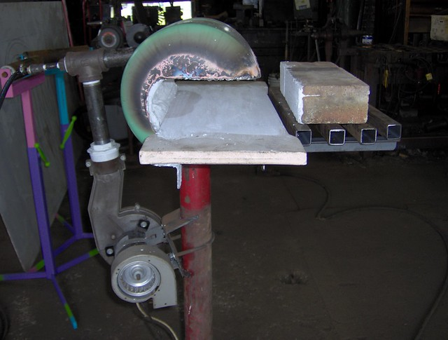 Build Gas Forge Using Thermafiber