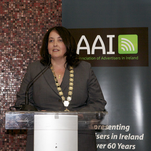 Fiona Curtin speaking | by AAI Logo