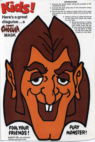 Count Chocula Mask Dan Goodsell Flickr
