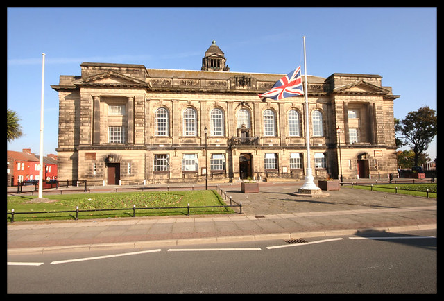 Wallasey Town Hall The Flag Was A Nice Bonus This Was