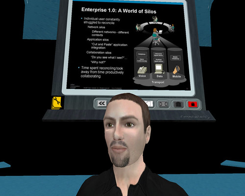 Cisco Tech Chat in Second Life on Unified Communications | by Text100