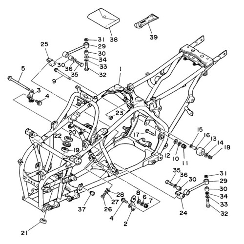 Yamaha banshee oem parts schematic this is a picture of for Yamaha oem part