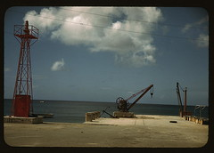 The harbor, Frederiksted, Saint Croix island, Virgin Islands  (LOC) | by The Library of Congress