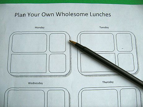 Planning worksheet for the Laptop Lunchbox | Download the vi ...
