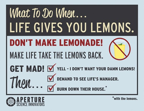 What to do when life gives you lemons. | by skylercloud222