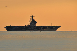 USS George H.W. Bush (CVN 77) departs Naval Station Norfolk. | by Official U.S. Navy Imagery