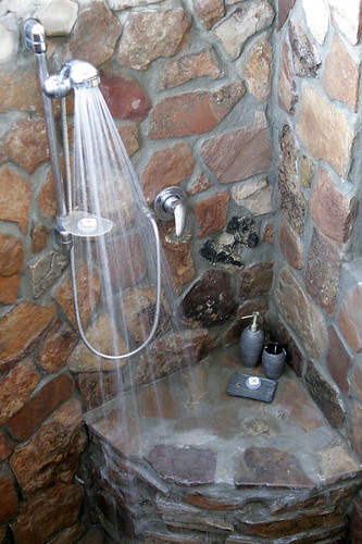 Outdoor Rock Shower Drive South Africa Flickr