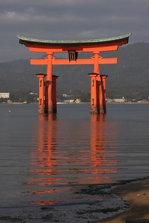 Morning at Torii Gate, Miyajima | by Luke Robinson