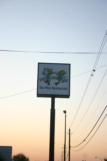 Dos Charros Restaurant Menu