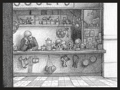 Hugo Cabret - George ion the toyshop