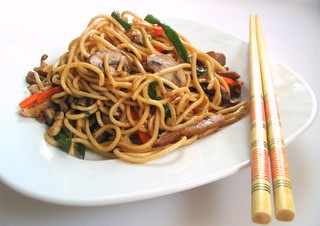 Chinese Stir-Fried Noodles | by Nook & Pantry