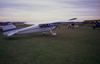 Cessna 170A, Grimes Field, Oct. 1998a | by Belle'sDaddy