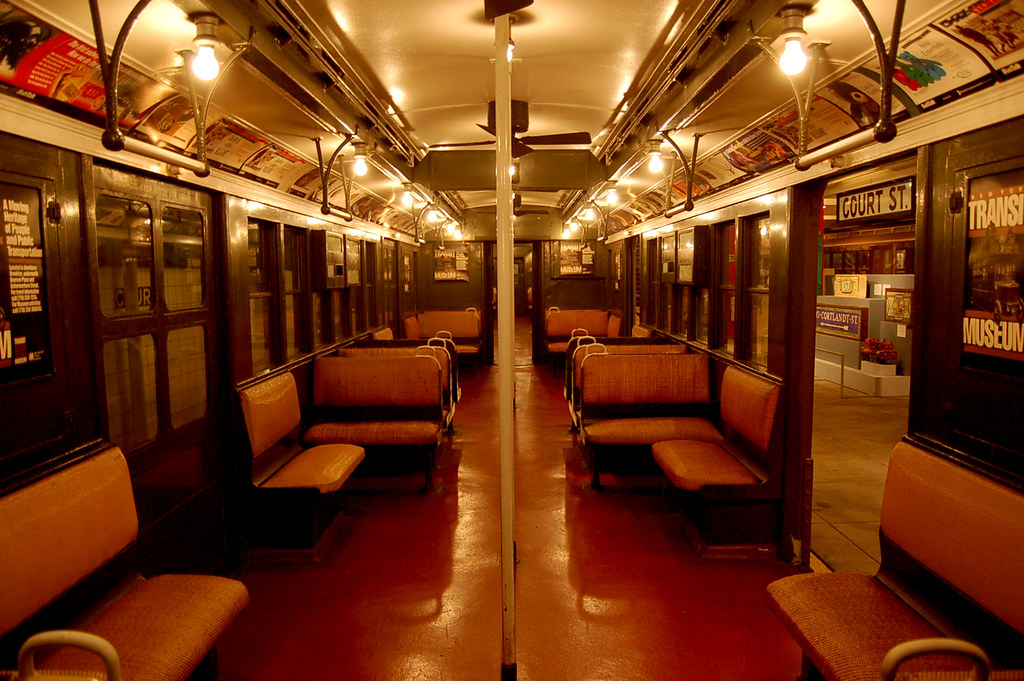 Gorgeous 1920 S Ny Subway Car Note The Ceiling Fans