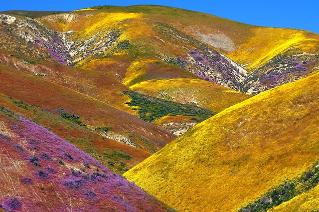Temblor Range From The Carrizo Plain Used A Cp Filter A