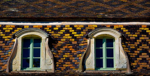 Burgundian Roof Top - Montelie | by The Hungry Cyclist