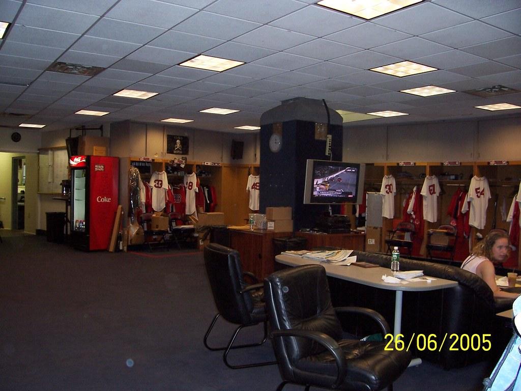 Red Sox Locker Room