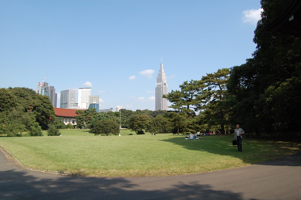 Parque Yoyogi en Tokyo