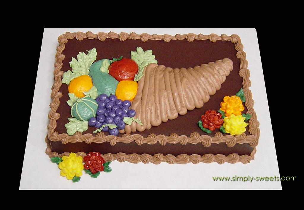 Cornucopia Cake Pan