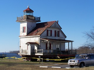 Edenton Lighthouse After Move | by ~jeannie~