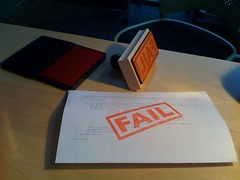 FAIL stamp | by hans.gerwitz
