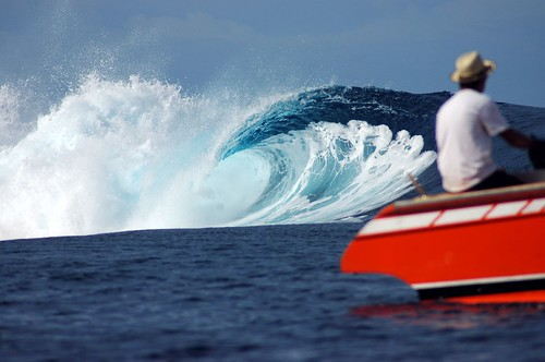 2008 Teahupoo Billabong Surf Competition | by Pierre Lesage