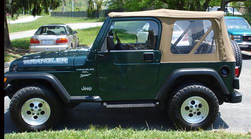 1999 jeep 1999 jeep wrangler sport 4x4 soft top hard doo flickr. Black Bedroom Furniture Sets. Home Design Ideas