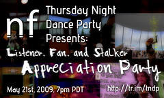Thursday Night Dance Party: Appreciation Party | by Leo Newball, Jr.