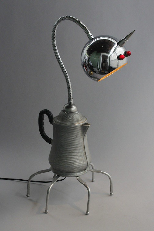 ... Alien Lamp | By Adopt A Bot