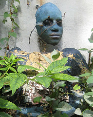 Face Torso Garden Blue Face | by CounterfeitChicken