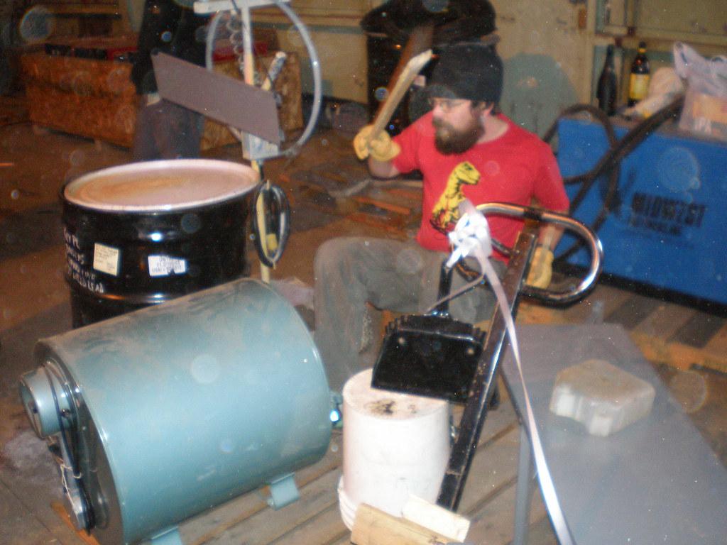 how to make a homemade taiko drum