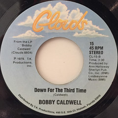 BOBBY CALDWELL:CAN'T SAY GOODBYE(LABEL SIDE-B)