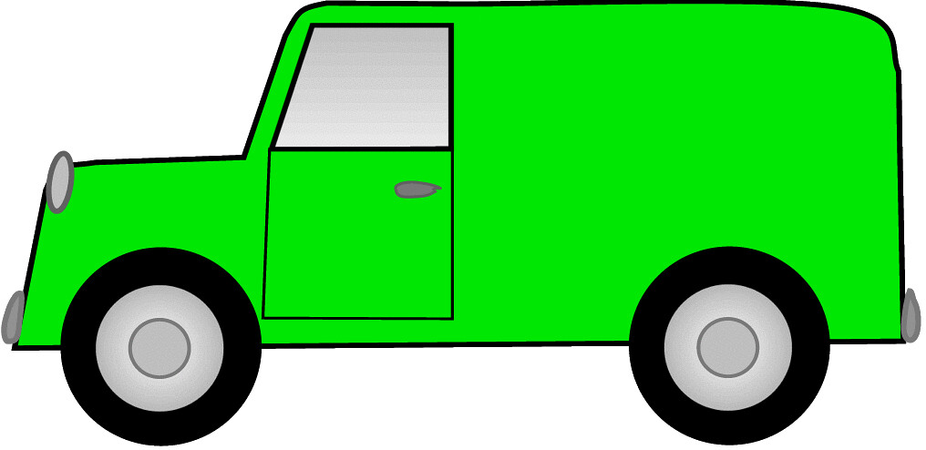 clipart pictures of vans - photo #14
