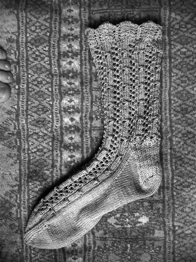 Knitting Vintage Socks Nancy Bush : Fancy silk sock knitting vintage socks nancy bush