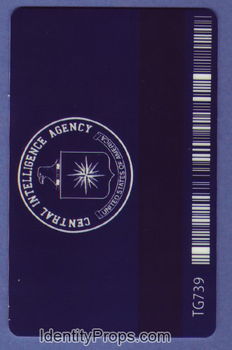 back of cia id badge agcrewall